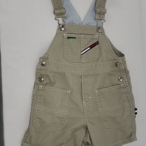 Boys 3T Tommy Hilfiger Overall Shorts